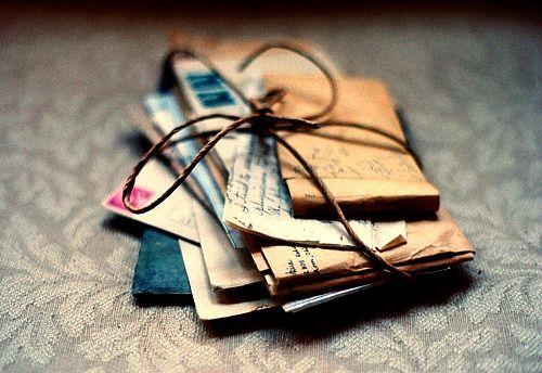 cartas não existem mais...
