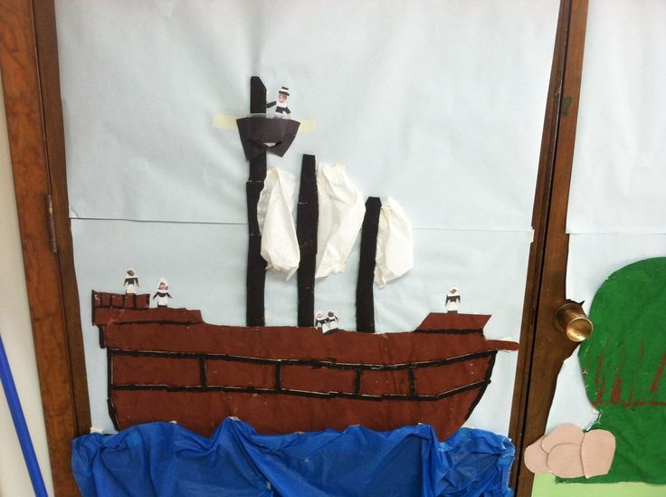 we now have sails on our Mayflower