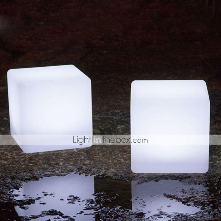 upplyst ledde kub stol utomhus ledde kub plast ledde kub stol - SEK Kr. 1,039