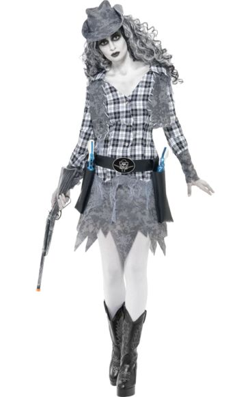 Ghost Cowgirl Costume