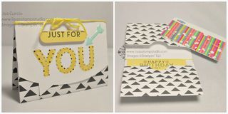 Gift card holder collage