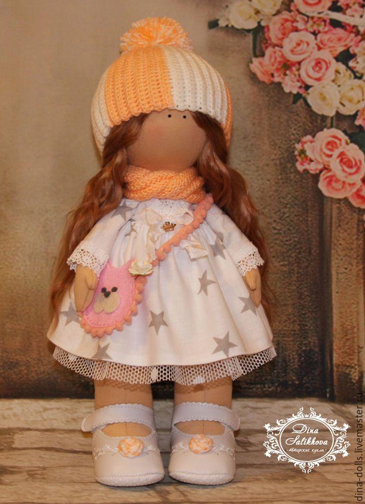 """Купить Интерьерная кукла """"Катюша"""" - белый, кукла ручной работы, интерьерная кукла"""