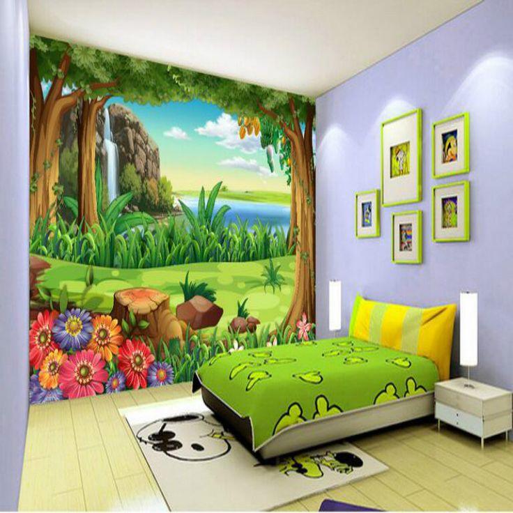Cartoon Living Room: Best 25+ 3d Wallpaper Ideas On Pinterest