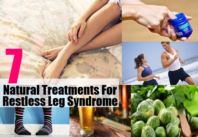 Treatments For Restless Leg Syndrome