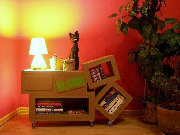 Dizzy lizzy by catrooni cardboard furniture imagenes de muebles muy lindos en carton - Imagenes de muebles de carton ...