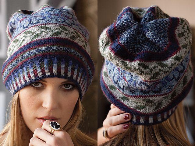 122 best Fair Isle Patterns images on Pinterest | Knitting ...