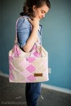 *NEW* Pink Plaid   Central Park Diaper Bag