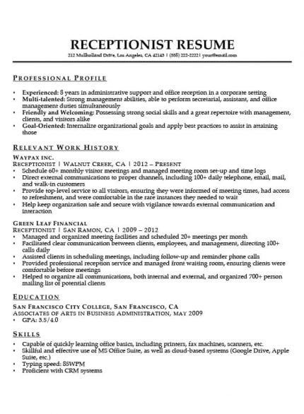 cool administration resume template idea administrative