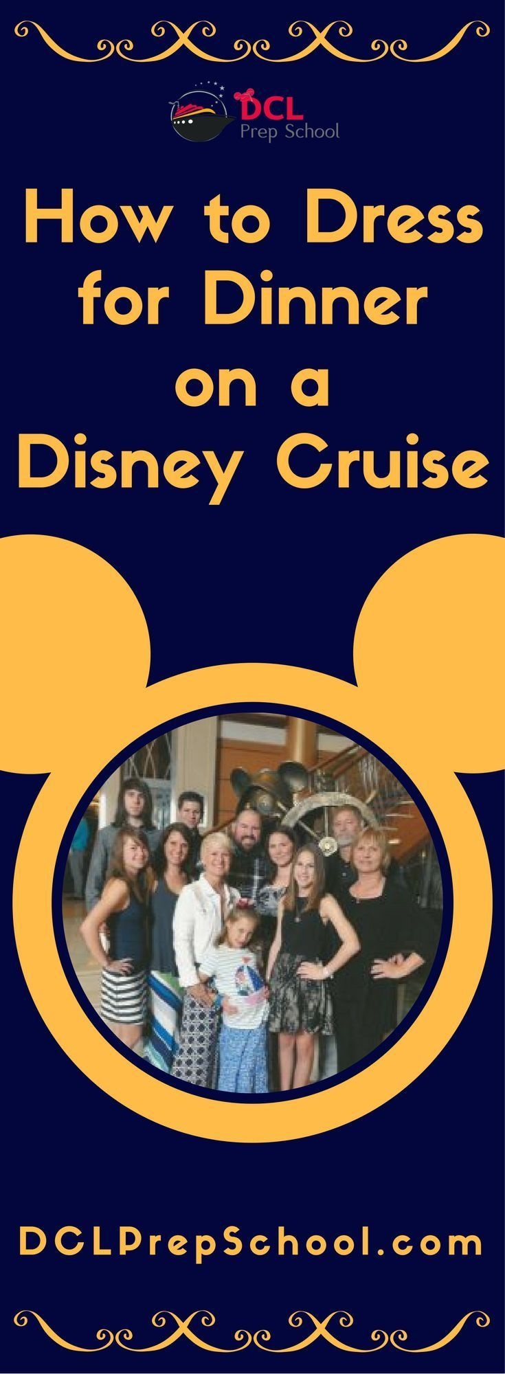 How to Dress for Dinner on a Disney Cruise | DCL Prep School