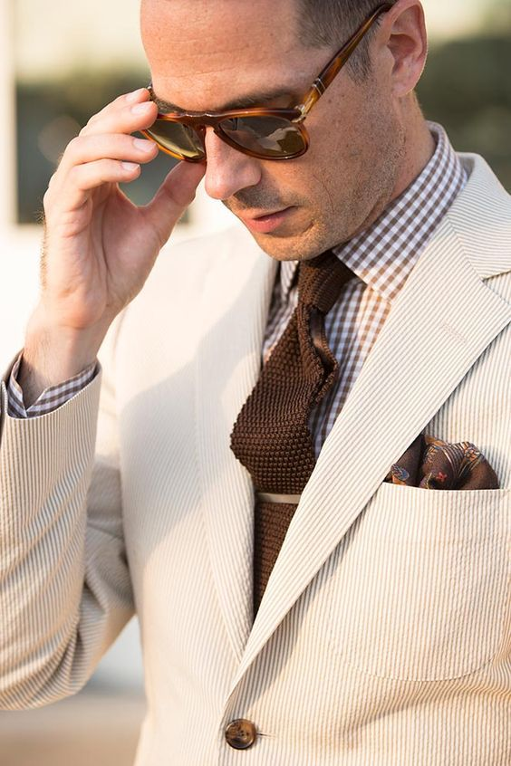Seersucker Suit: Business - He Spoke Style The Best of summer fashion in 2017.