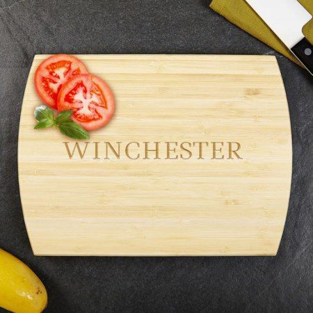 Classic Cut Golden Bamboo Cutting Board - click to get yours right now!