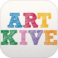 Artkive - Save Kids' Art av The Kive Company