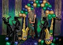Mardi Gras Music Theme Party