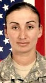 Army SGT Eduviges G. Wolf, 24, of Hawthorne, California. Died October 25, 2009, serving during Operation Enduring Freedom. Assigned to 704th Brigade Support Battalion, 4th Brigade Combat Team, 4th Infantry Division, Fort Carson, Colorado. Died at Forward Operating Base Bostick, Kunar Province, Afghanistan, of injuries sustained when insurgents attacked her vehicle with a rocket-propelled grenade while en route to FOB Bostick on a volunteer supply mission.
