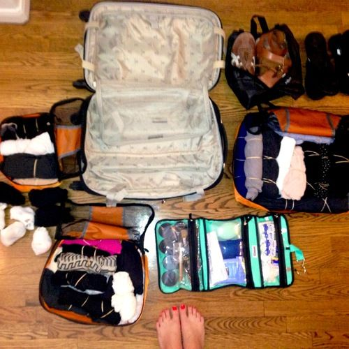 How to Pack for a 2-Week Trip in a Carry-On. Because checking bags is for the birds.