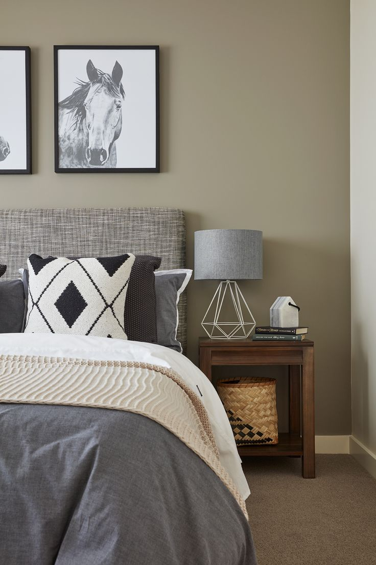 Your bedroom will come to life with the addition of unique artwork and bold pattern accessories.