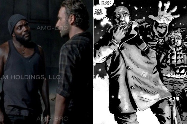 S3E9 THE SUICIDE KING - Rick Meets Tyreese