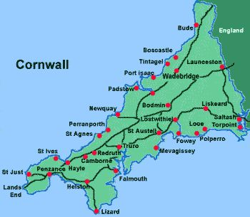 Kingdom of Cornwall | Cornwall: On the Trail of King Arthur -Saltash-Erth -Barton