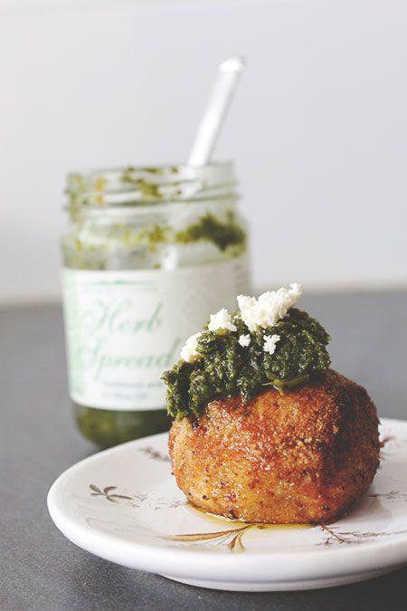 Cauliflower Arancini  #Rapid #LowCarb #Dinner #Starter #GlutenFree #Ketogenic #Keto