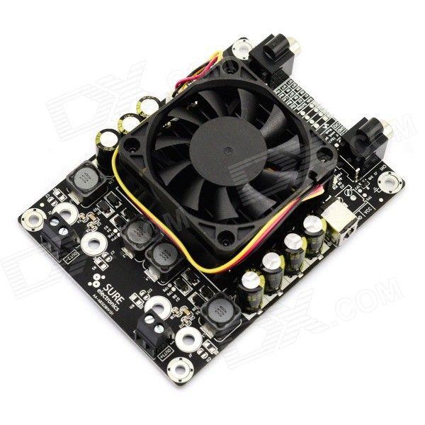 2 x 100W Class-D Audio Amplifier Board TDA7498 - Black