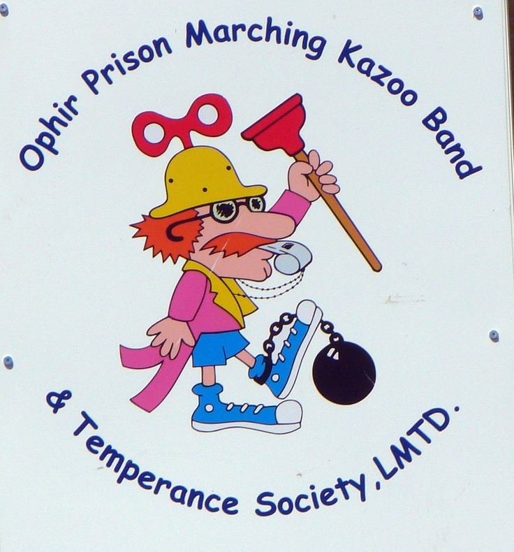 Captain Rufus T. Whizbang...the leader of the Ophir Prison Band :)
