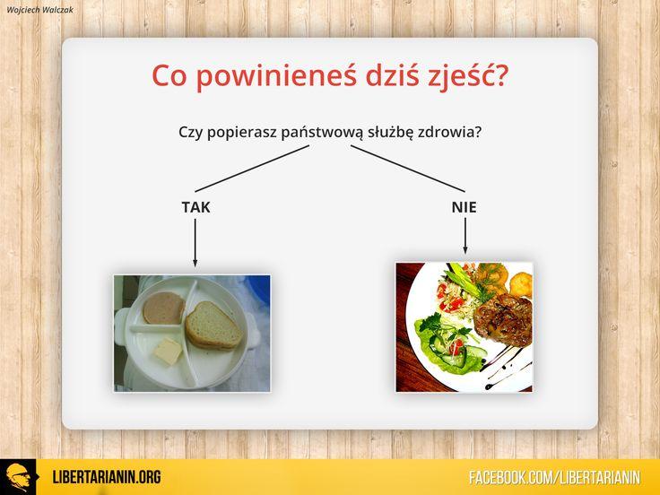#polska #szpitale #panstwowa #sluzba #zdrowia #prywatne #szpitale #jedzenie #obiad #wybor #socjalizm #wolnyrynek #kapitalizm #rynek #wolny