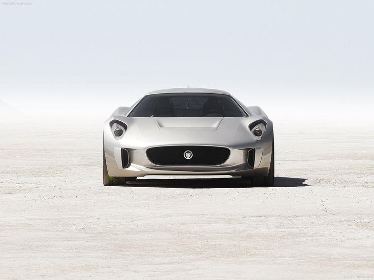 Jaguar CX 75. Itu0027s Like Both The Future And The Speed.