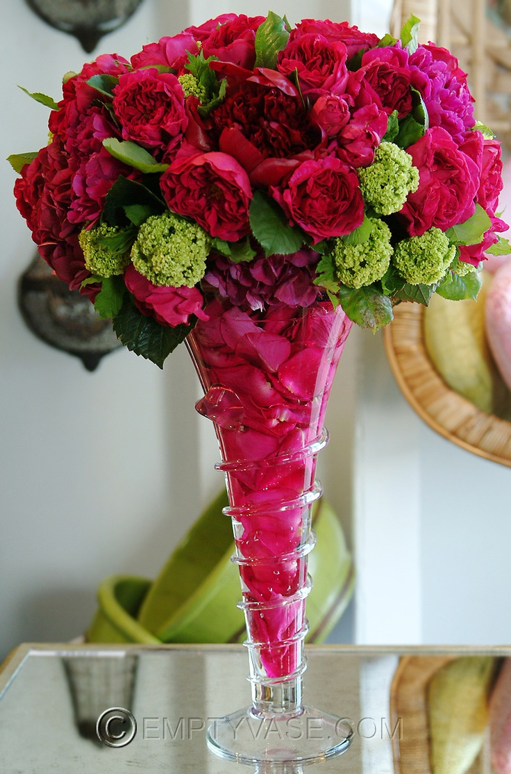 Unique hot pink roses ideas on pinterest
