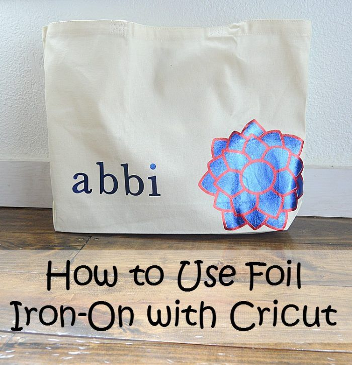 how to cut foil with cricut