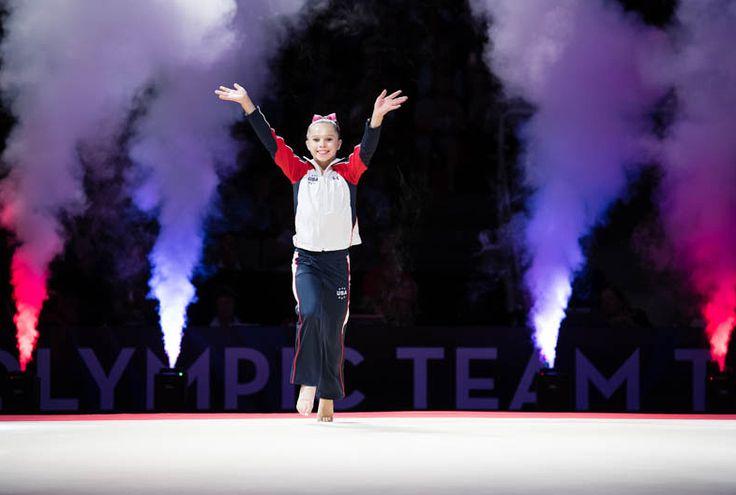 Ragan Smith (Texas Dreams) 2016 Olympic Trials (Day 1)
