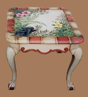 Painted table by Cloud9
