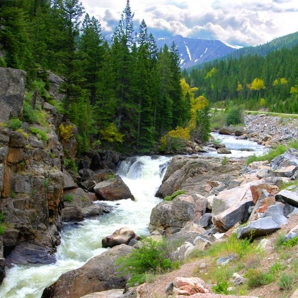 stream in the mountains - photo #28
