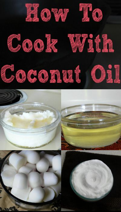 Are you new to cooking with coconut oil? Here are some tips that will help you learn how to cook with coconut oil!