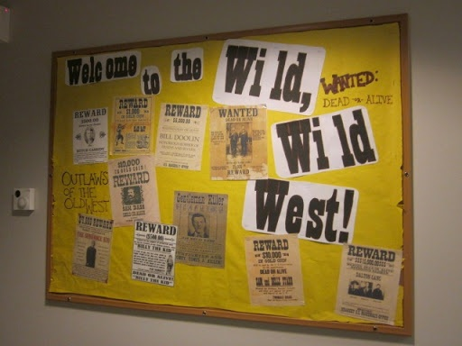 western bulletin board sets | Western Bulletin Board Themes