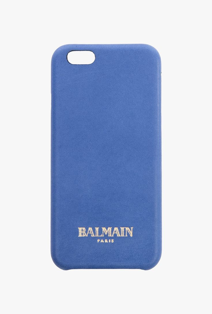 Textured-leather iPhone 6 case | Leather goods | Balmain