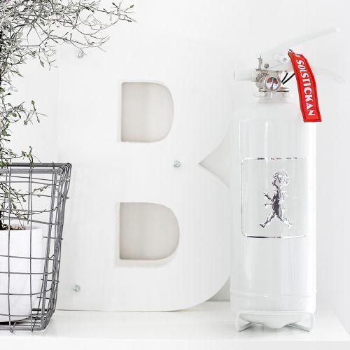 BRANDSLÄCKARE – VIT/VIT   Solstickan Design – Modern och folklig design med hög kvalitet inom hem och inredning.