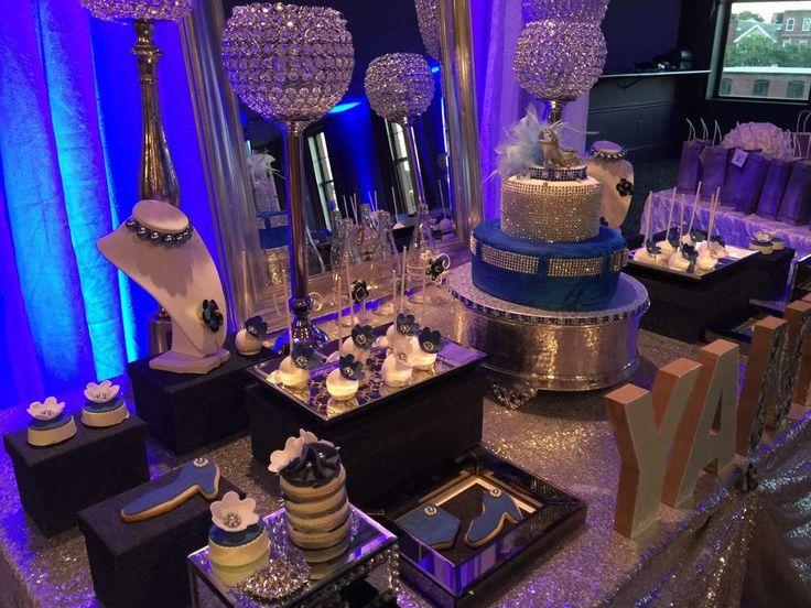 Diamonds And Denim Birthday Party Ideas