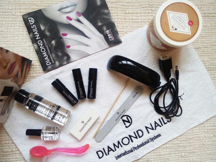 Diamond Nails gél lakk induló szett!!! :D