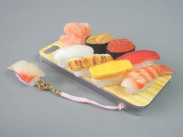 FUJIX | Rakuten Global Market: Japan artisan food sample iPhone 5 case miniature sushi with strap IP-211