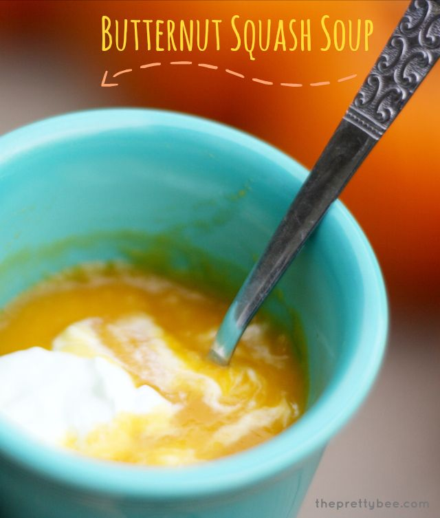 Creamy and flavorful butternut squash soup recipe - perfect for chilly fall evenings!