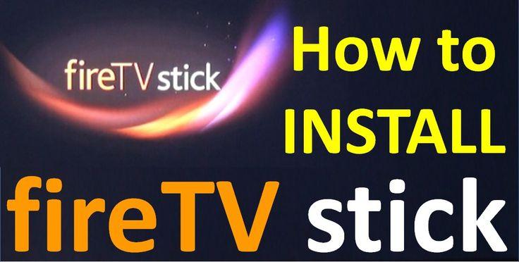 How to install Fire TV Stick to convert normal HD TV to Smart TV
