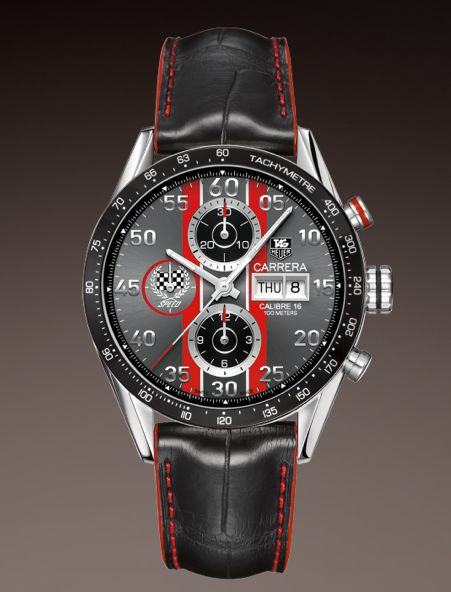 TAG HEUER CARRERA CALIBRE 16 DAY-DATE AUTOMATIC ...