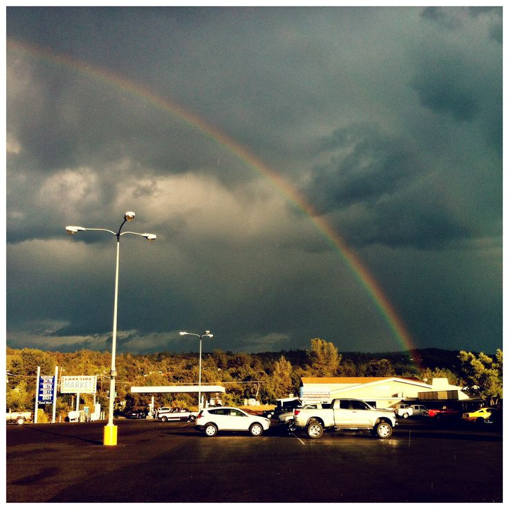 """Day 465: """"A City of Gold"""" - What is someplace over the rainbow?    www.BuuckPhotography.com    #project365 #photooftheday #rainbow #weather #oroville"""