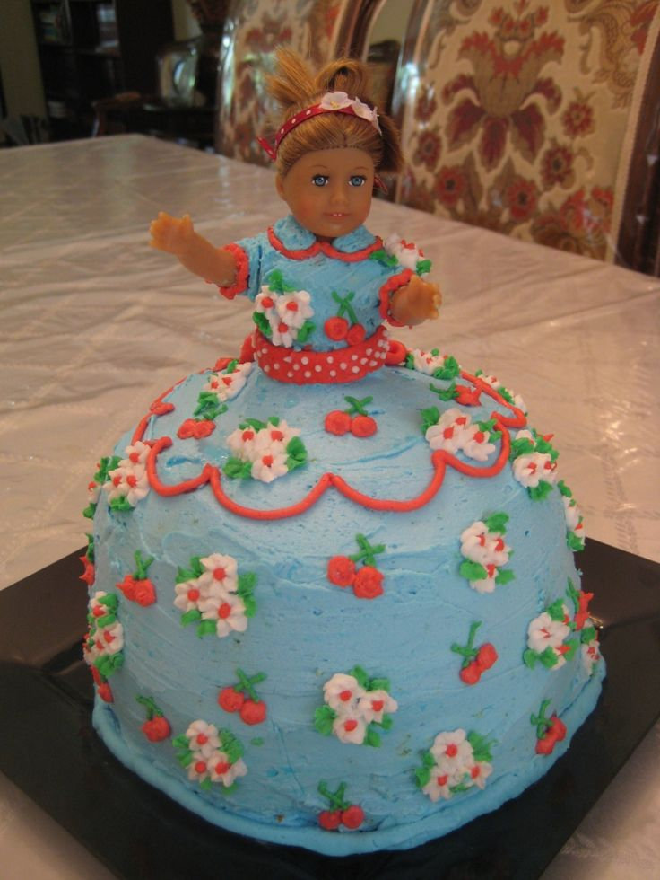 American Girl Doll Birthday Party Cake Ideas