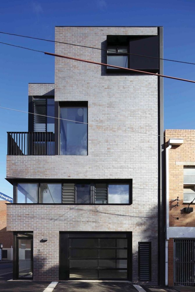 17 best images about bricks on pinterest architecture for Modern townhouse architecture