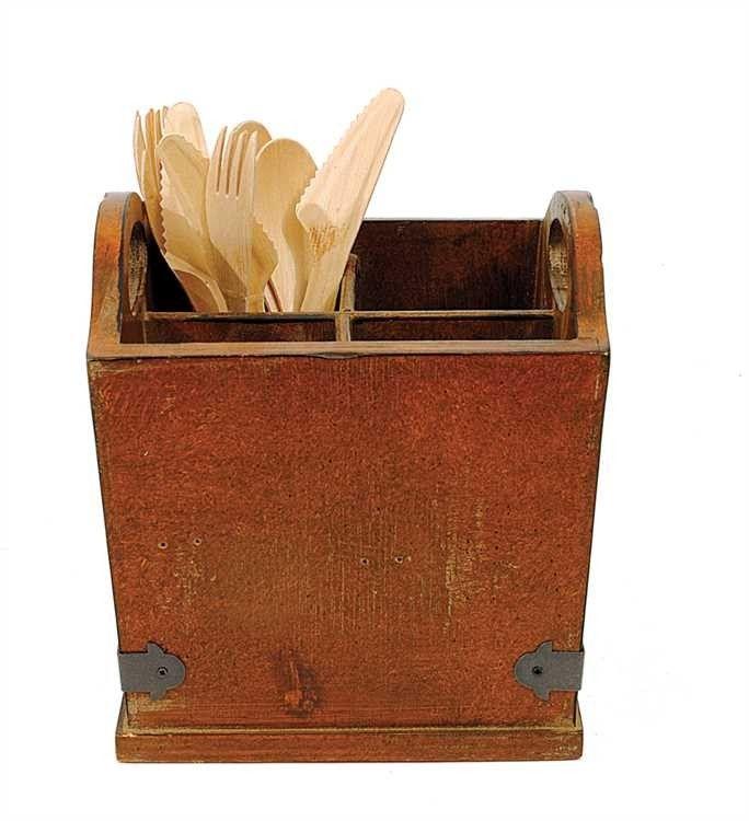 Best 25 silverware caddy ideas on pinterest tin can diy for Creative silverware storage