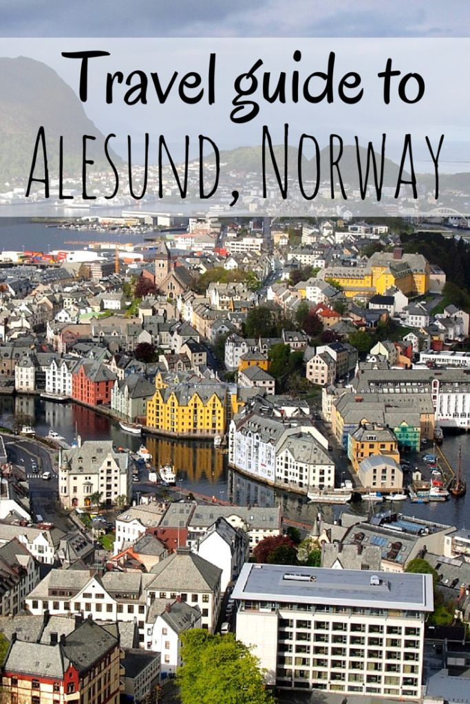 Travel guide to Alesund, Norway