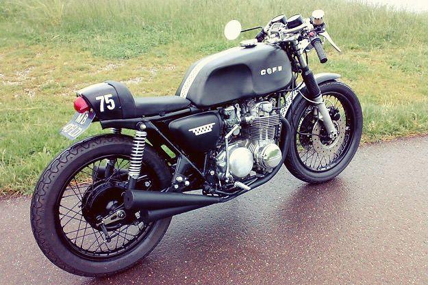 Honda CB500 cafe racer | Bike EXIF