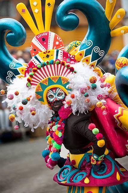 Carnavales Blancos y negros  Pasto 2017 Foto Dayra Benavides