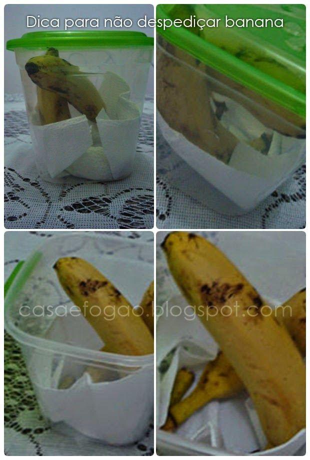 Como conservar melhor a banana e não desperdiçar. // How best to conserve and not waste banana